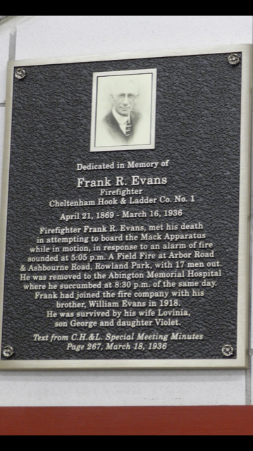 You will not be forgotten Mr Evans