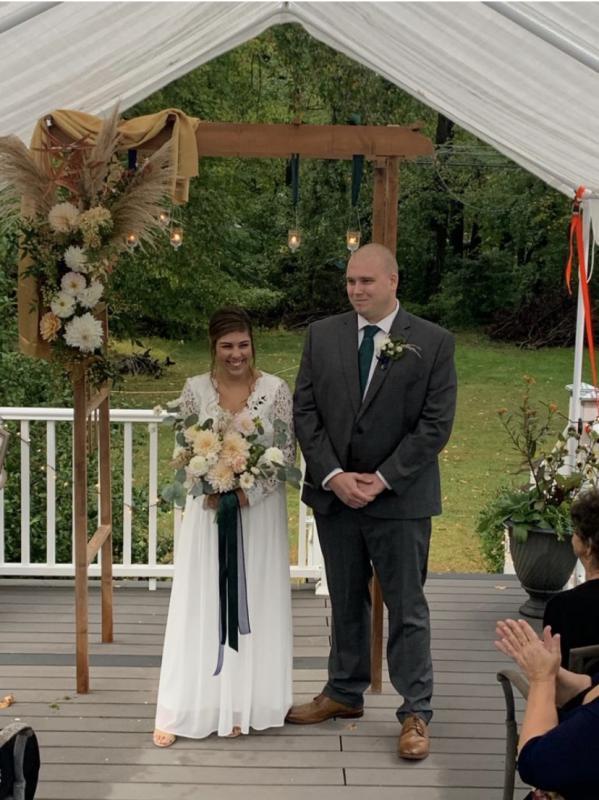 Asst Chief Kevin Craig and Johanna
